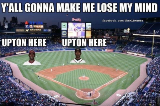 The Braves are talented no doubt, but also possess the best meme of the year.